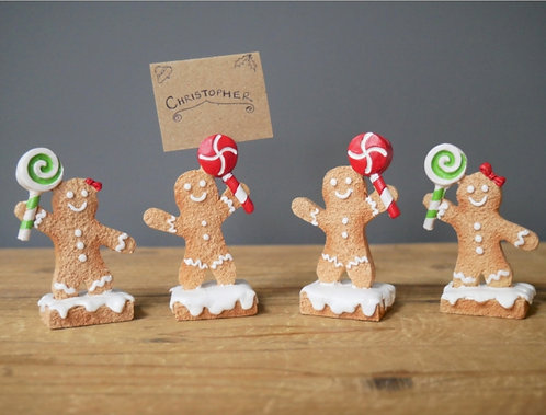 Gingerbread Man Name Cards