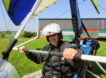 GED'S FIRST SOLO