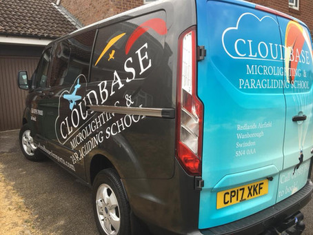 CLOUDBASE AIRSPORTS GETS NEW FLYING VAN
