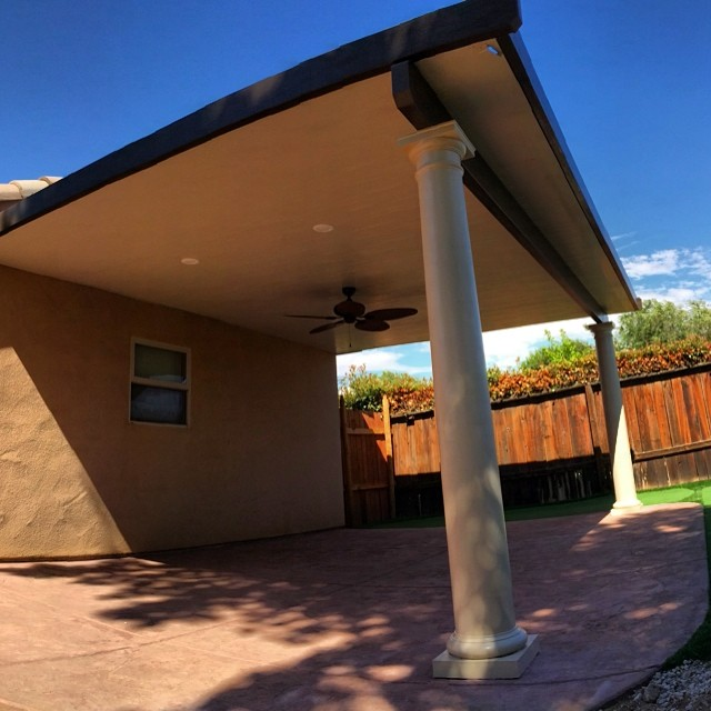 Instagram - Did an awesome metal patio t