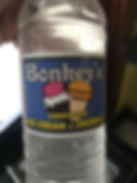 Bonkeys Ice Cream water