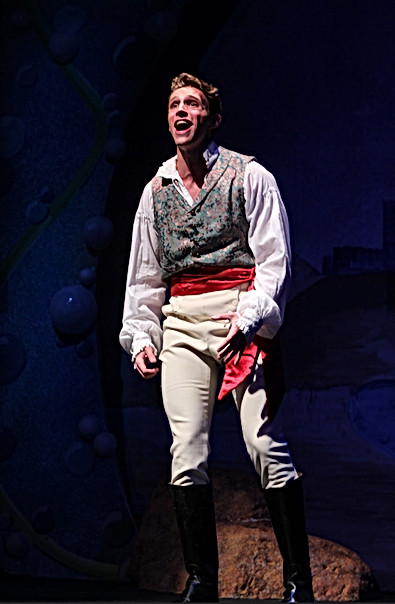 Eric in The Little Mermaid