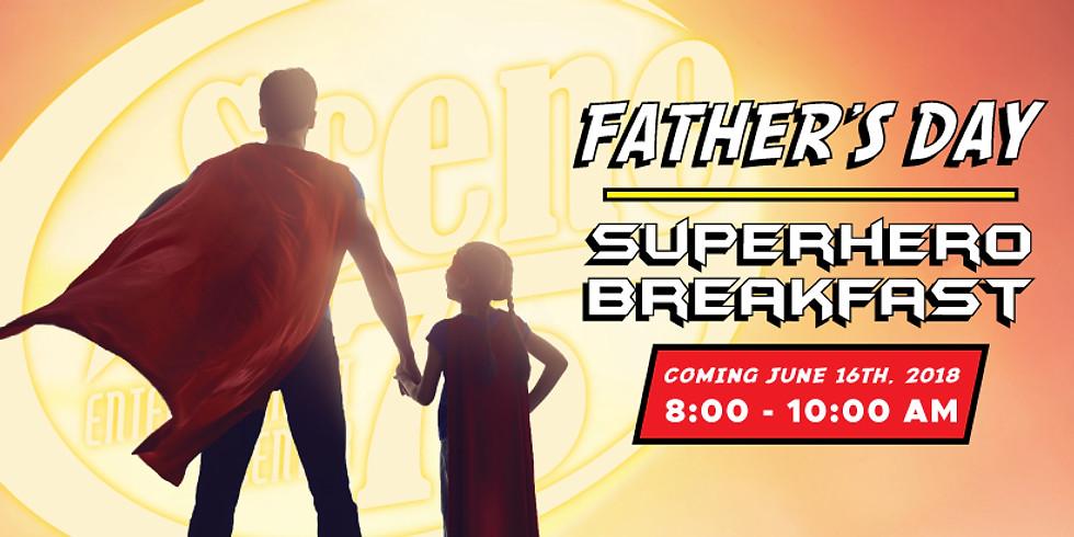 Father's Day Superhero Breakfast