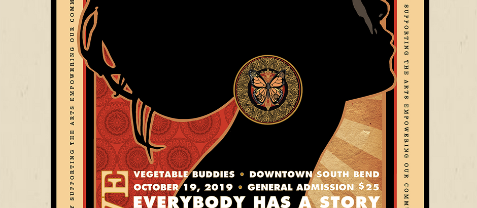 Steve Sult Donates Commemorative Artwork to Everybody Has A Story's October 19, 2019 Concert.