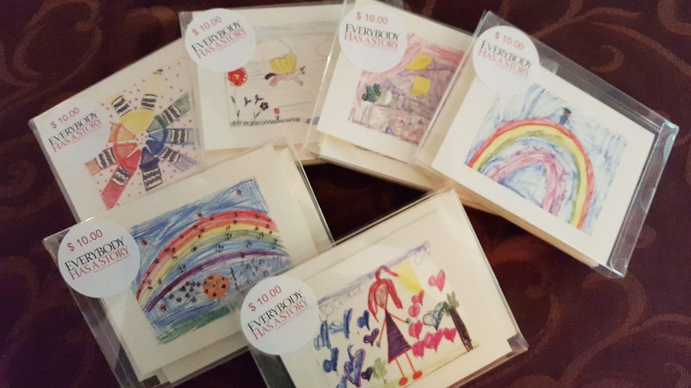 NEW! PERLEY FINE ARTS ACADEMY SET OF 6 NOTECARDS