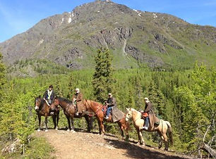 Alaska Horseback Day Ride