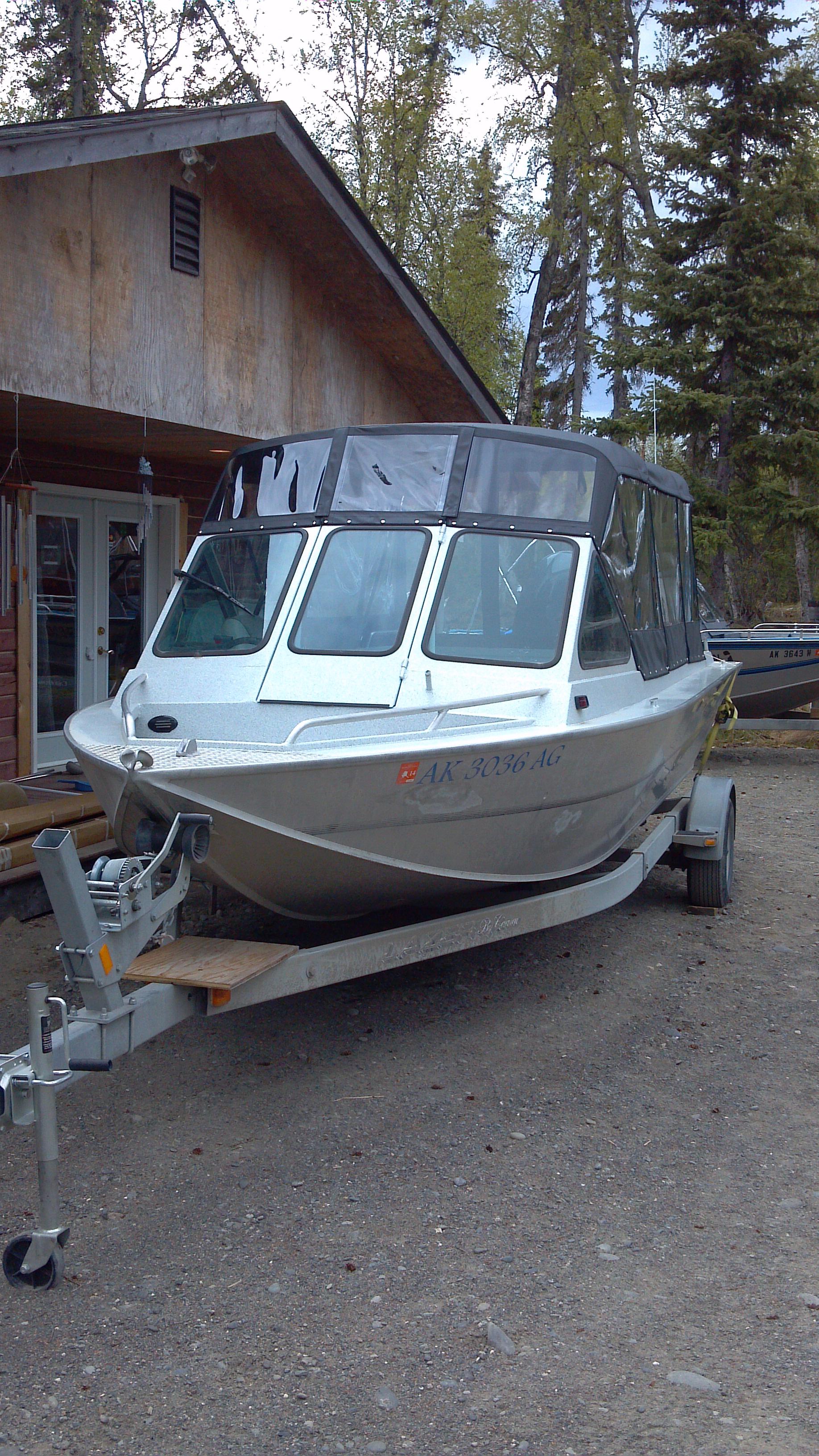 Alaska Canvas Boat Tops