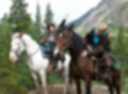 Alaska Horseback Trail Ride