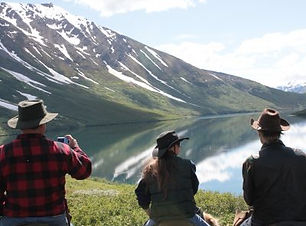 Crescent Lake Alaska Horseback Ride