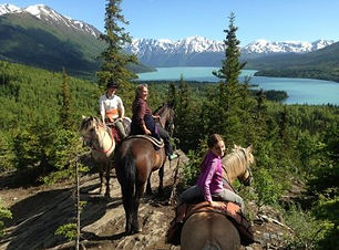 Quartz Creek Alaska Horseback Ride