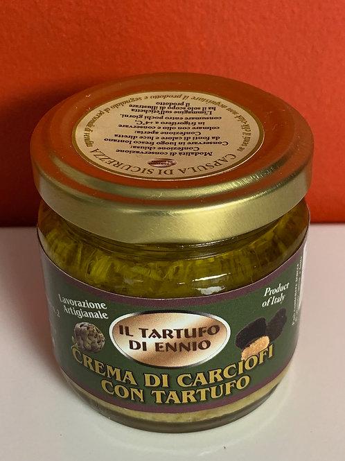 Crème d'artichauts et truffe noire