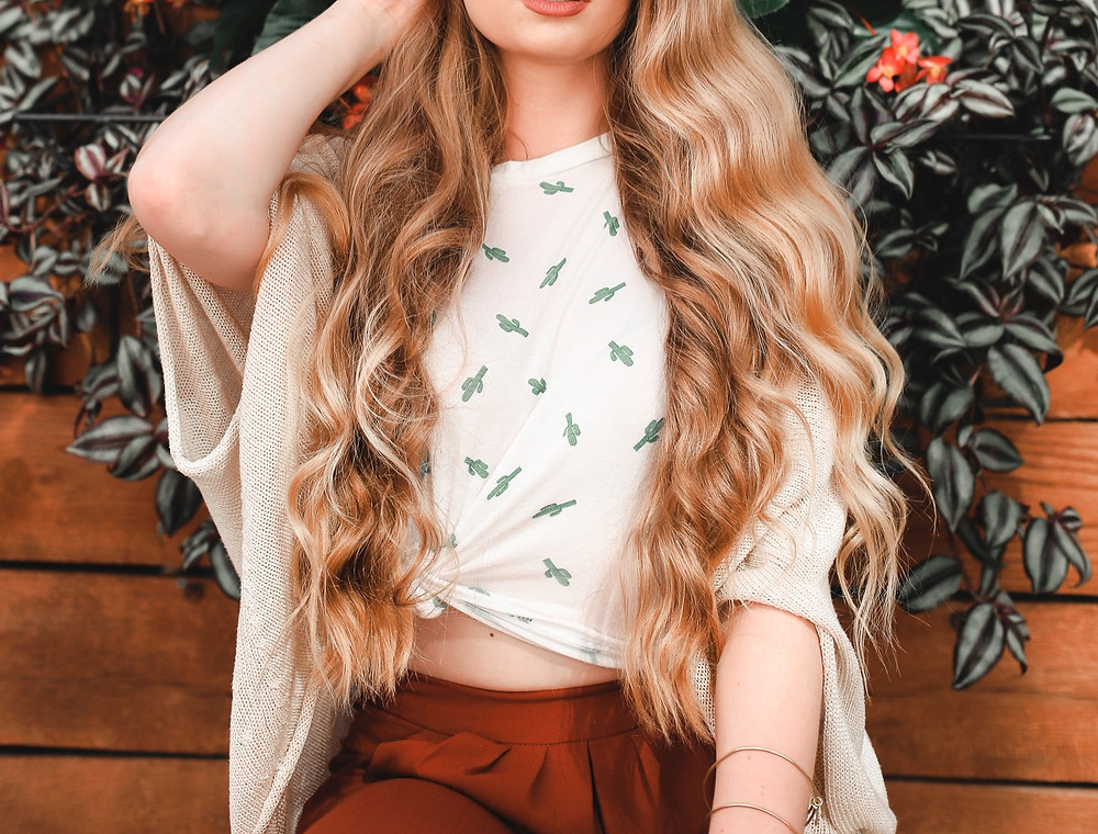 April Heil, TheHeilStyle, The Heil Style, Brady Pappas Photography, H&M, Forever 21, Hair, Hair Goals, Blonde Way Hair, Long Hair, Long 70s hair, retro, vintage, my hair, hair care tips, best hair tips, grow your hair, diy, tips and tricks for healthy hair, healthy, hair, straight hair, Jennifer Anniston hair, long straight hair, beachy, beachy wavy hair, beach waves, Barefoot Blonde Hair, Barefoot Blonde, Natural hair