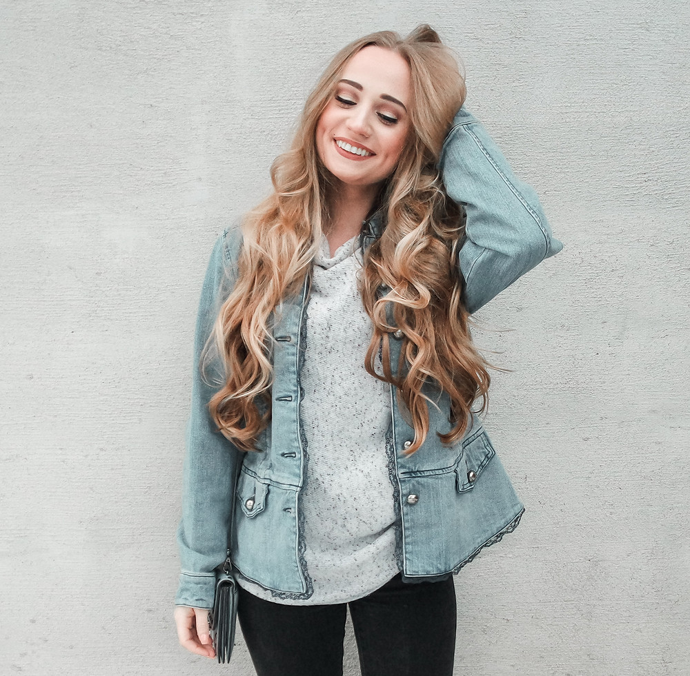 April Heil, TheHeilStyle, The Heil Style, Brady Pappas Photography, H&M, Forever 21, Hair, Hair Goals, Blonde Way Hair, Long Hair, Long 70s hair, retro, vintage, my hair, hair care tips, best hair tips, grow your hair, diy, tips and tricks for healthy hair, healthy, hair, straight hair, Jennifer Anniston hair, long straight hair, beachy, beachy wavy hair, beach waves, Barefoot Blonde Hair, Barefoot Blonde, Natural hair, Evangelin: A Boutique Salon, Shrewsbury PA