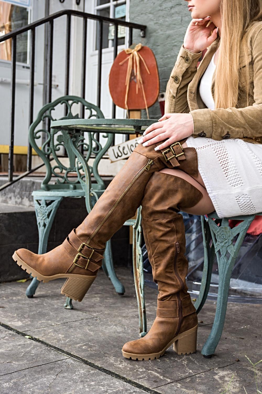 boots, fall, fall outfit, autumn, theheilstyle, April M. Heil, White Mountain, shoes, White Mountain Shoes, white dress, blazer, dressy, pretty, blonde, happy, photography, outdoors, Pennsylvania, fashion blog, blogger, top bloggers, top fashion bloggers