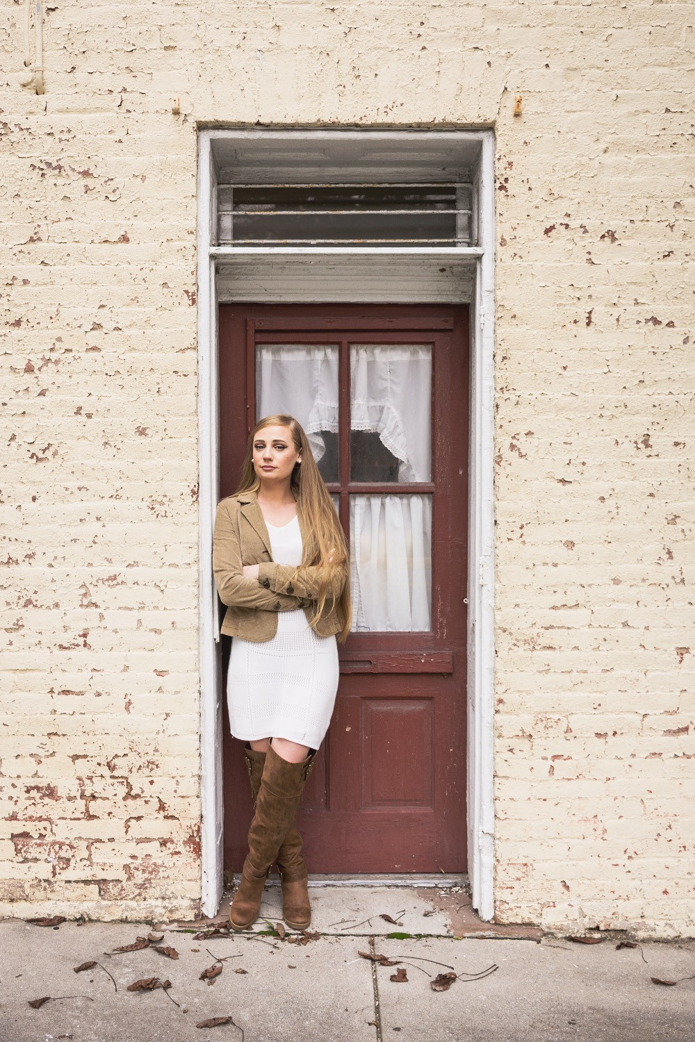 boots, fall, fall outfit, autumn, theheilstyle, April M. Heil, White Mountain, shoes, White Mountain Shoes, white dress, blazer, dressy, pretty, blonde, happy, photography, outdoors, Pennsylvania, fashion blog, blogger, top bloggers, top fashion bloggers, MacBook Air, Apple, Apple computer