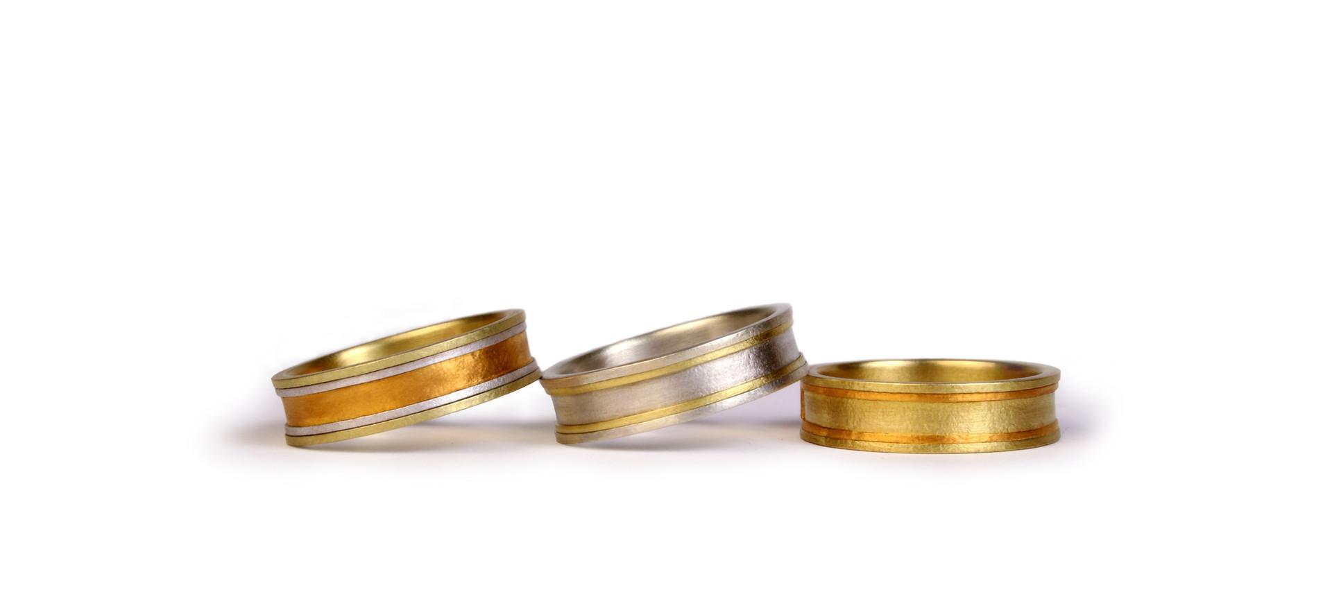 Cloisonné rings