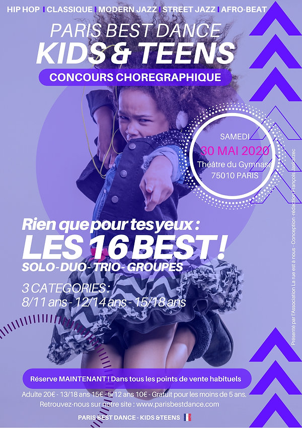 Flyer PARIS BEST DANCE - KIDS & TEENS.jp