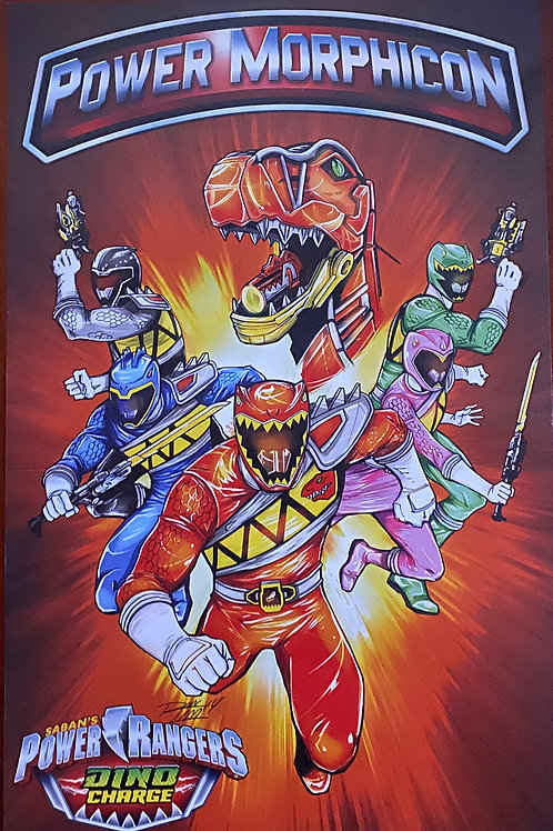 Signed Power Morphicon Poster