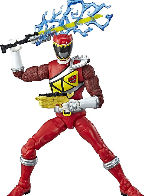 Dino Charge Red Ranger Collectible Action Figure!