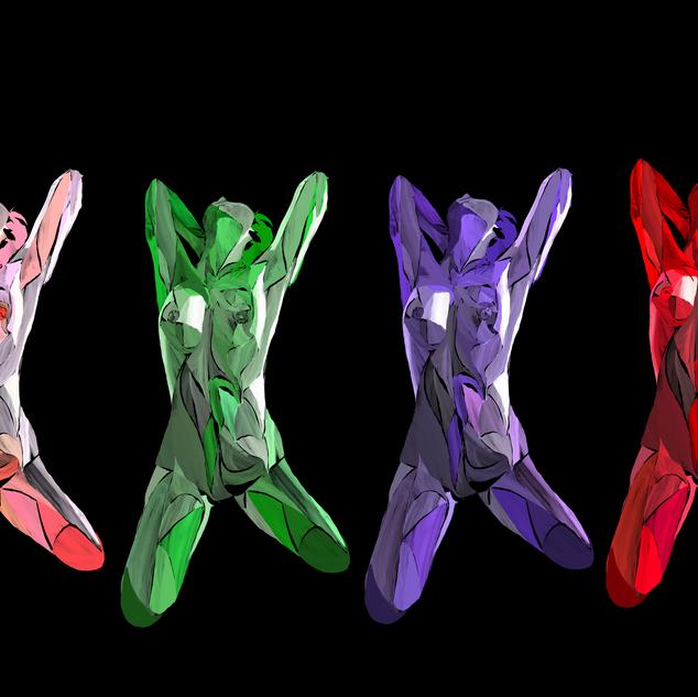 X factor Multicolor