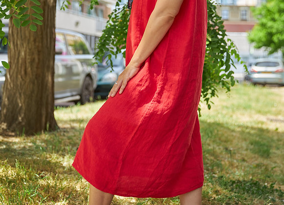 Isobelle in Red