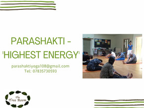 Parashakti – The Highest Energy with Srina at The Tree Room