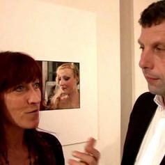 ANNE JACMAIRE EXPOSE AU JARDIN DES ALMEES A ARRAS