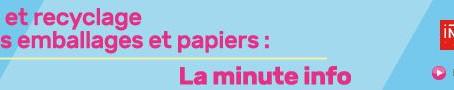 LA MINUTE INFO TRI & RECYCLAGE - 10 « RÉDUIT-ON LES FORÊTS POUR FABRIQUER DU PAPIER ?