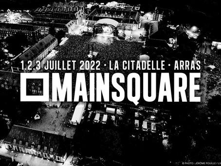 L'ÉDITION 2021 DU MAIN SQUARE FESTIVAL REPORTÉE EN 2022 !