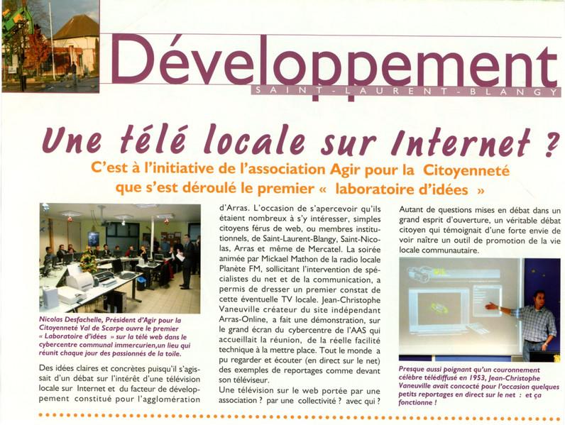 Bulletin Municipal Liaisons N°167 Décembre 2005