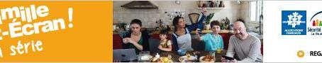 """""""LA FAMILLE TOUT ÉCRAN - SAISON 2"""" : ÉMISSION N°10 - TOUS AU PANIER !"""