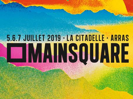 L'AFFICHE DU MAIN SQUARE FESTIVAL 2019