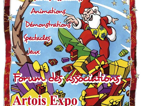 MARCHE DE NOËL ET FORUM DES ASSOCIATIONS IMMERCURRIENNES 2013 A ARTOIS EXPO