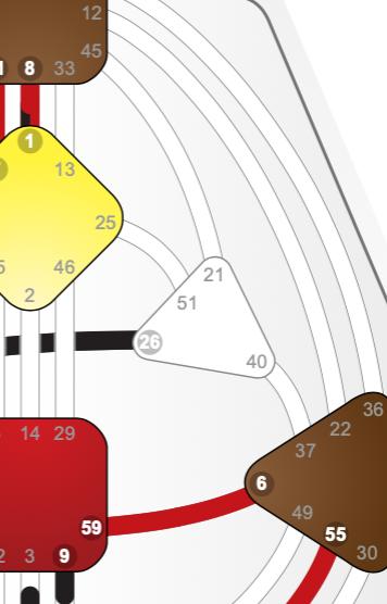 Screenshot of an undefined heart on a human design body graph