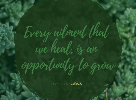 Every Ailment is an Opportunity to Heal