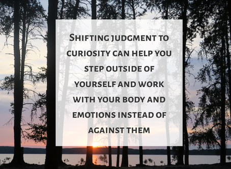 Shift Judgment to Curiosity