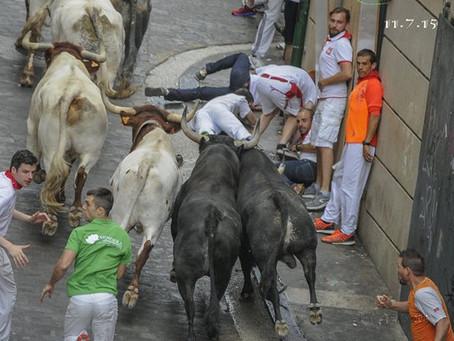 San Fermin Running of the Bulls Best Choice Balconies