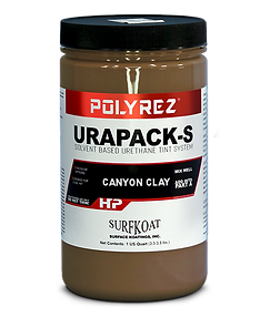 Urapack-S for 2 component solvent based urethane systems
