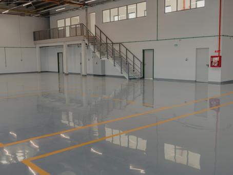 Cement Epoxy Flooring