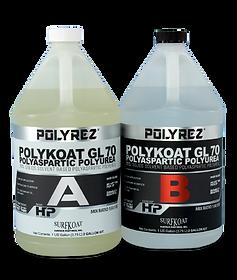 Polyrez GL 70 concrete coatings