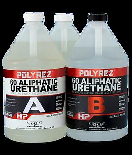 60 aliphatic urethane top coat