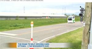 SmartCone brings intelligent infrastructure surrounding autonomous vehicles