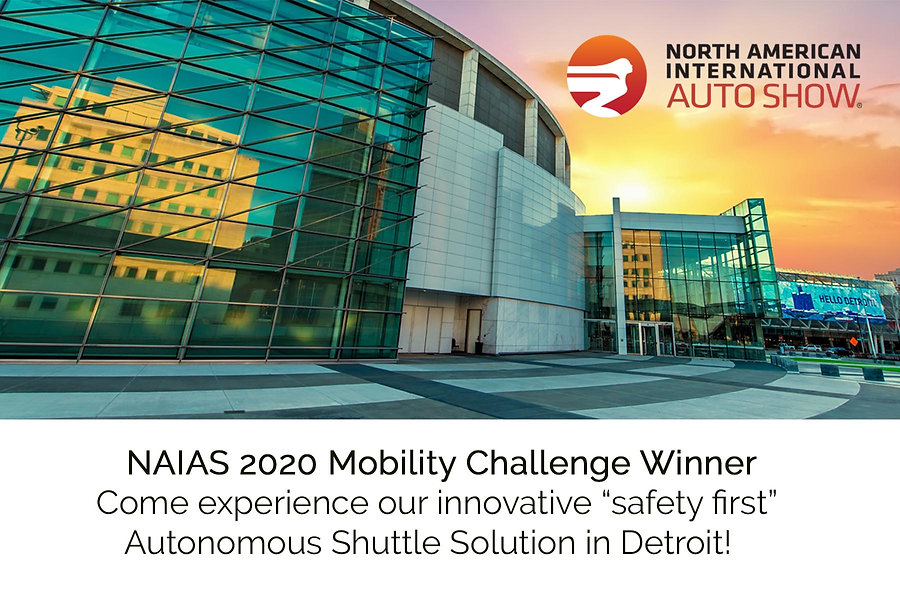 NAIAS 2020 Mobility Challenge Announcement