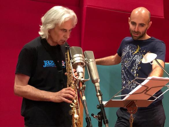 Perico Sambeat y Rubén Carles