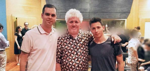 Frank, Pedro Almodóvar y Camilo