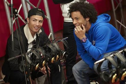 CR7 y Marcelo