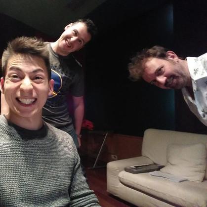Varela, Miki y Camilo