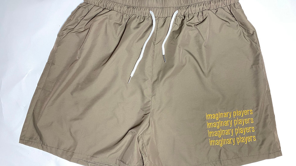 The Army Green Windbreaker Shorts