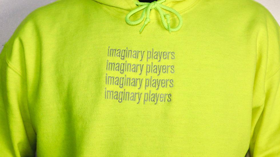 Imaginary Players Neon Green Hoodie