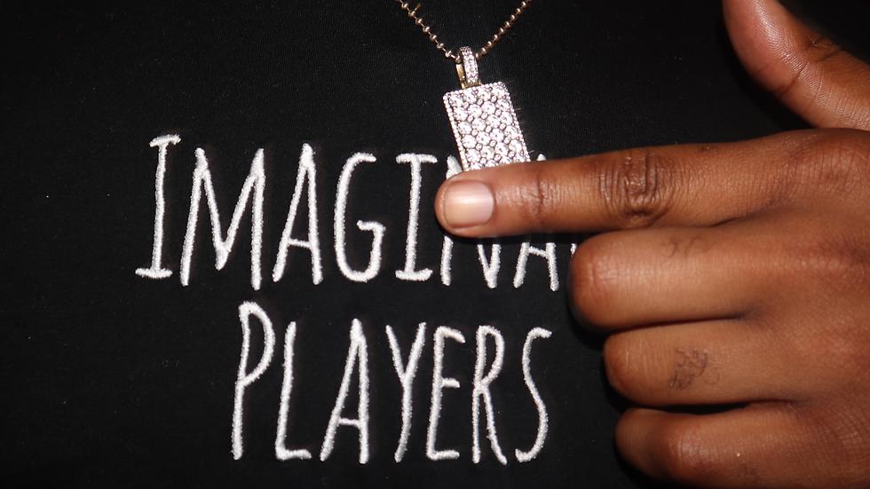 Imaginary Players Black Tee